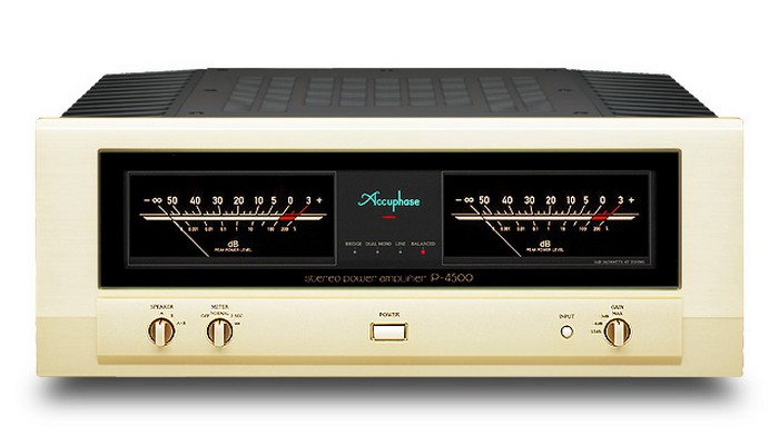 Accuphase Endstufe P-4500