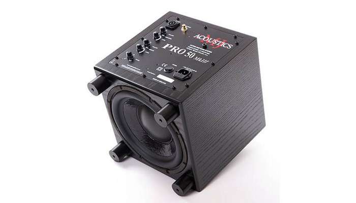 MJ Acoustics Subwoofer Pro 50 Back